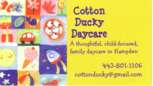 cotton ducky